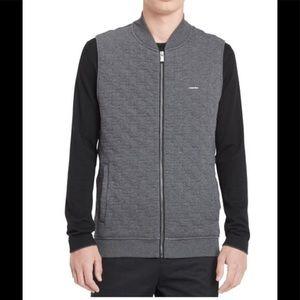 Calvin Klein Full zip Quilted  Vest size XL
